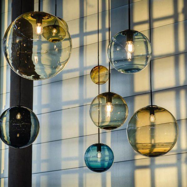 Miljøbilde av arkivlampe 4014 fra Hadeland Glassverk