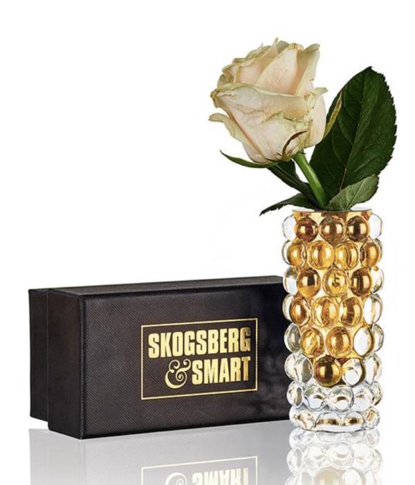 Produktbilde av Boule Mini Vase fra Skogberg og smart i amber