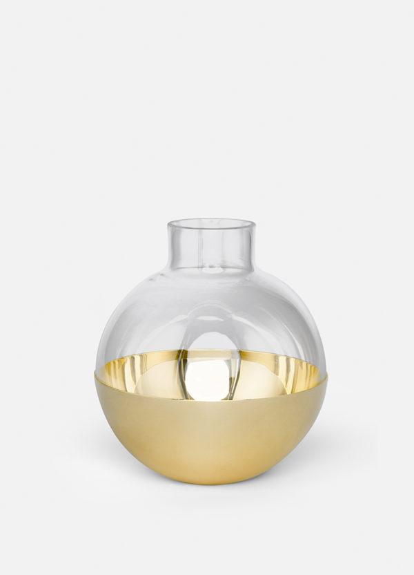 Produktbilde av vasen Pomme i messing fra Skultuna