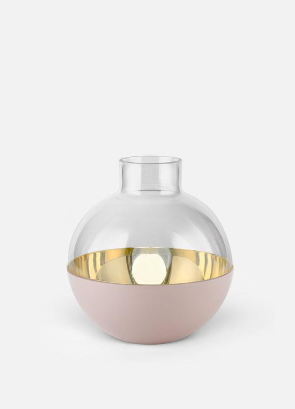 Produktbilde av vasen Pomme i pink fra Skultuna