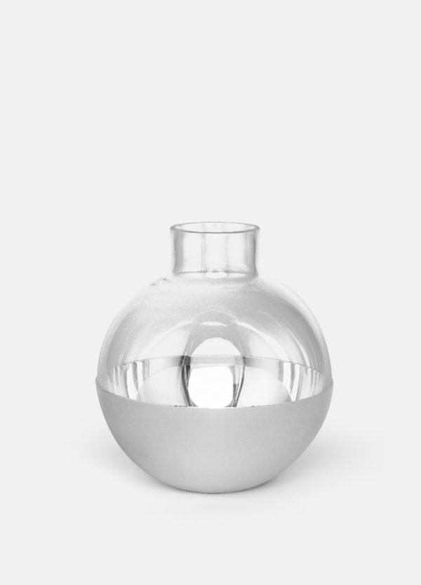 Produktbilde av vasen Pomme i sølv fra Skultuna