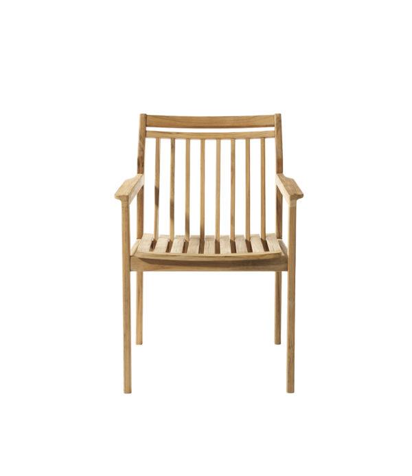 M1 Sammen Garden Chair. Hagestol i teak fra FDB Møbler