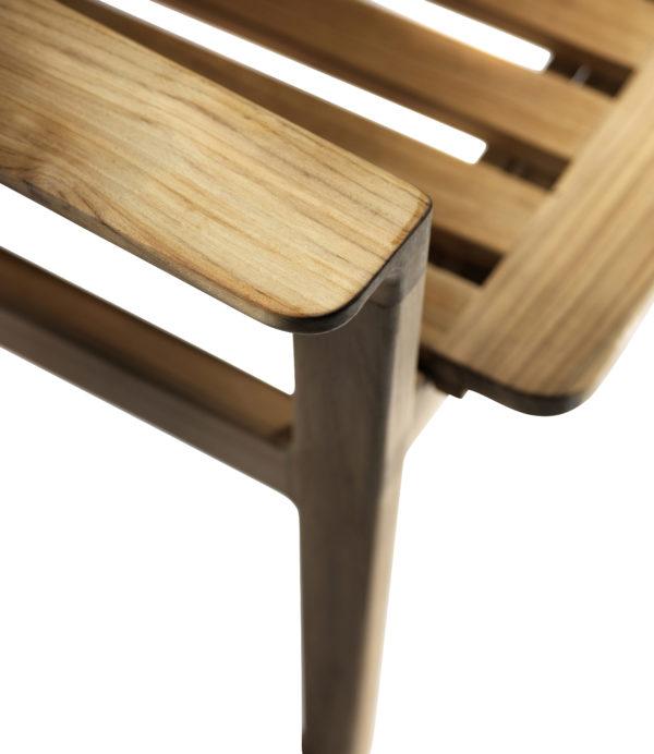 M1 Sammen Garden Chair. Hagestol i teak fra FDB Møbler detaljbilde 3