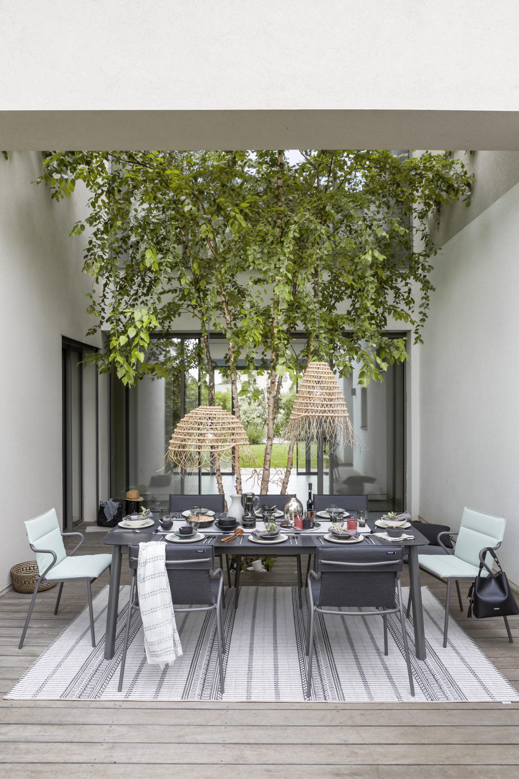 Ancone spiesbord og stol fra Lafuma