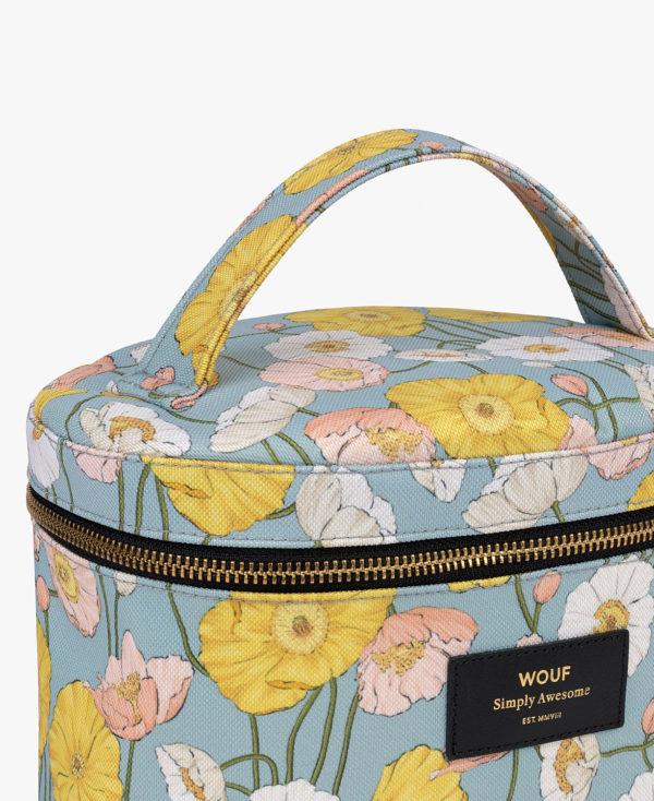 Alicia XL Makeup Bag. Toalettmappe med håndtak fra WOUF nærbilde 2