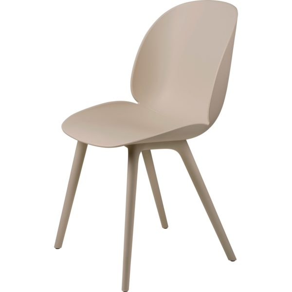 Gubi Beetle Outdoor Dining Chair in New Beige