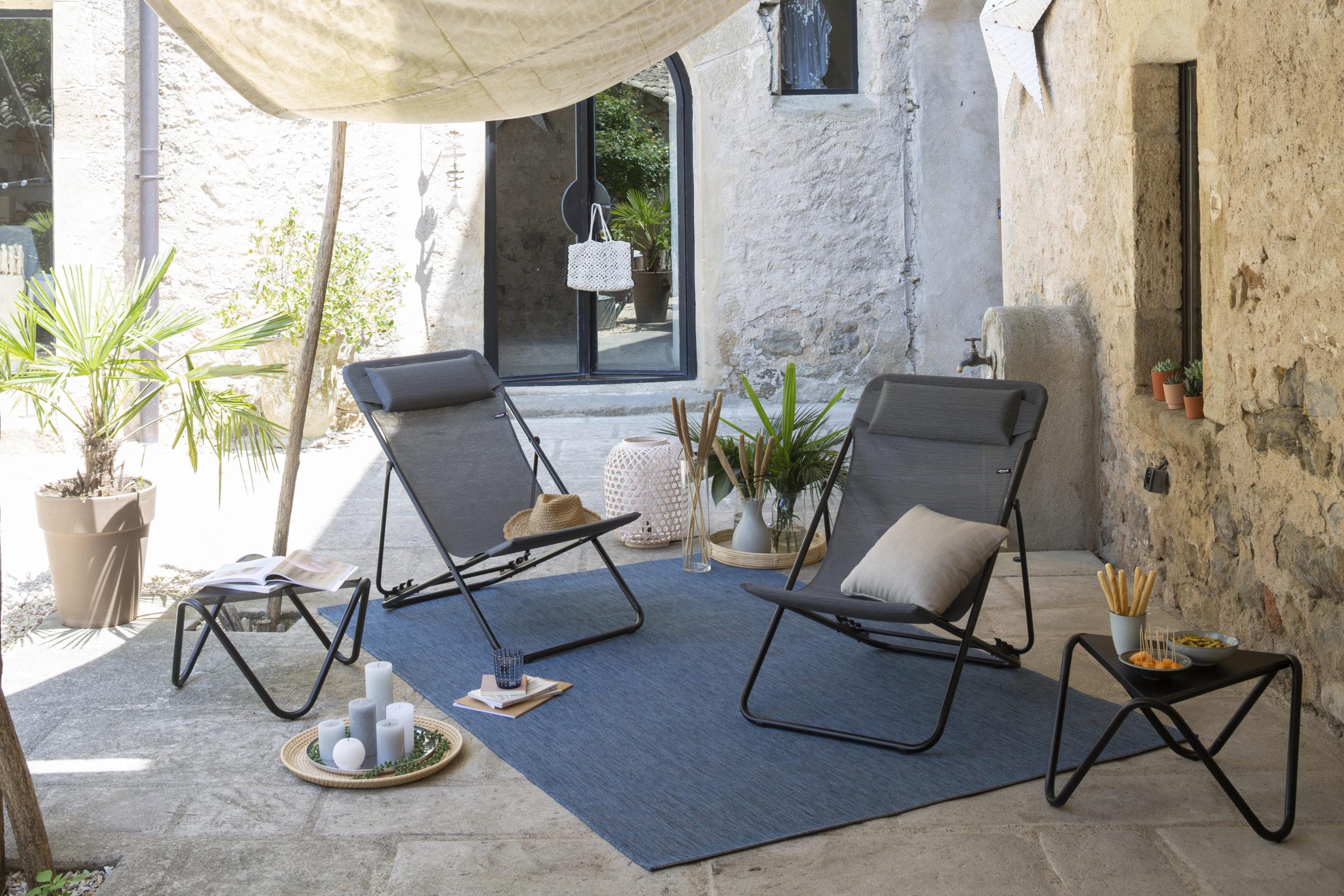 MIljøbilde av Maxi transat Plus solstol fra Lafuma