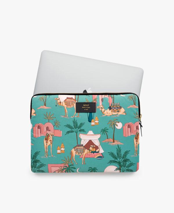 Sahara Laptop Sleeve 13″ fra WOUF med MAC
