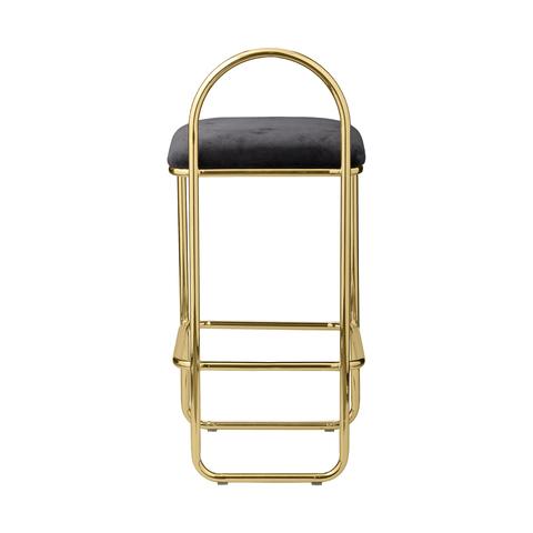 ANGUI bar chair fra AYTM Gold Black