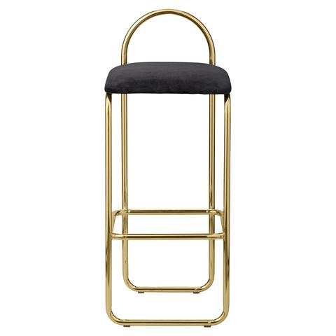 ANGUI bar chair fra AYTM Black / Gold