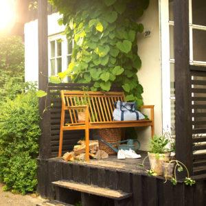 M11 Sammen Garden Bench fra FDB