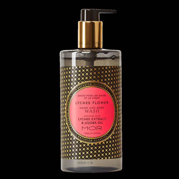 MOR hand and body wash Lychee flowers