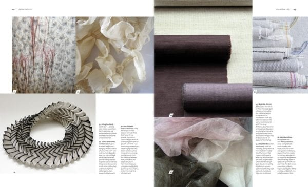 Textiles by Mary Schoeser inside the book