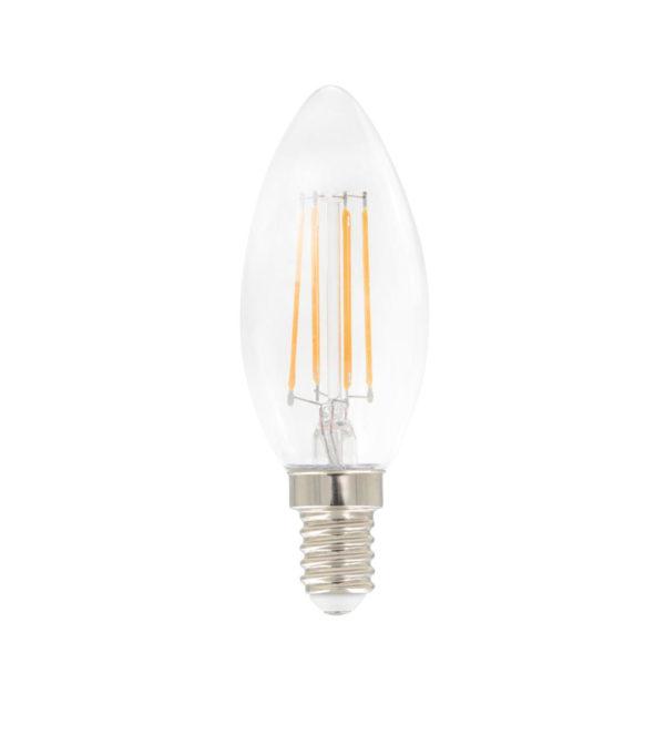 Airam Klar lyspære E14 LED Mignon