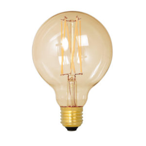 Calex gold globe lyspære E27
