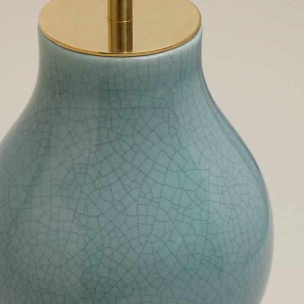Avebury bordlampe i farge Duck egg fra Vaughan Designs 3