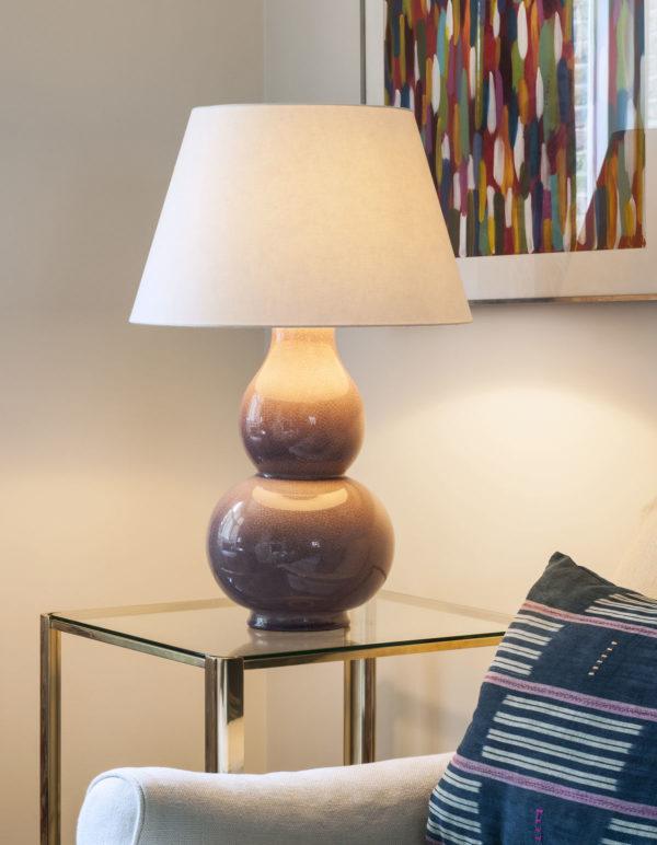 Avebury bordlampe i farge Dusky Rose fra Vaughan Designs 2