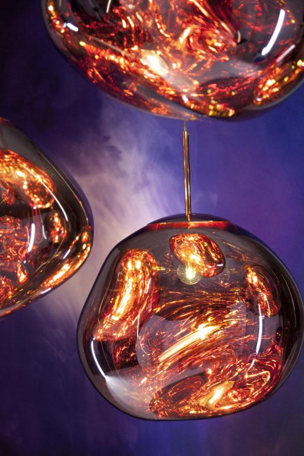 Melt LED Kobber fra Tom Dixon