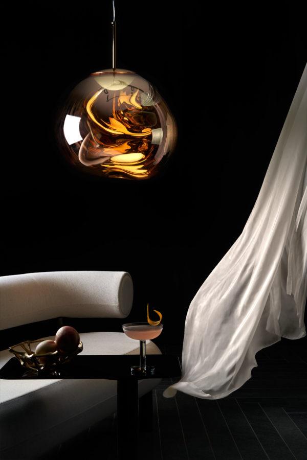 Melt LED Gull fra Tom Dixon