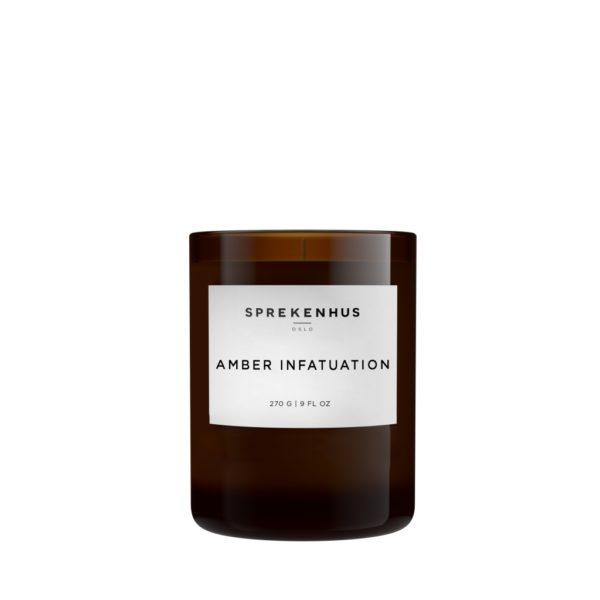 Amber Infatuation Candle fra Sprekenhus