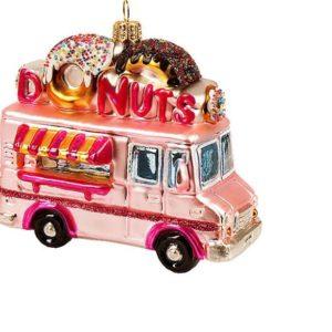 Julekule Donut bil fra Vebo Ornaments